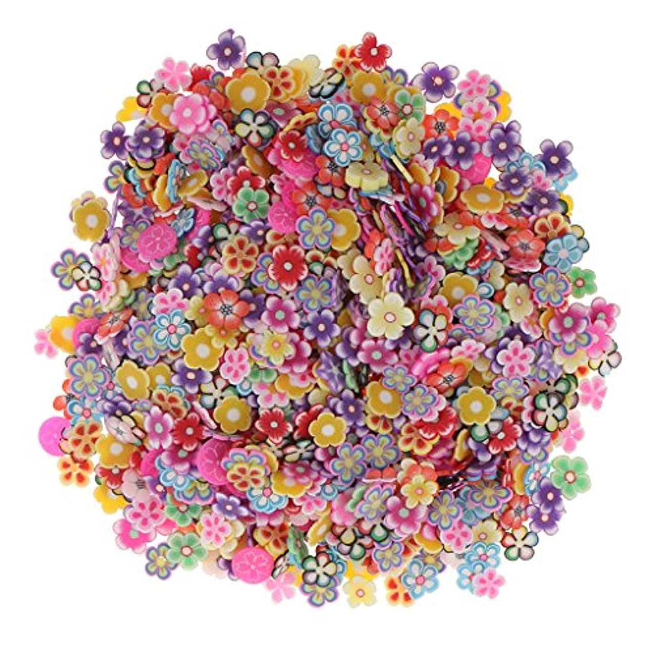 Sharplace 約1000個入り ネイルアート 3D花 フラワー DIY 手作り デコレーション