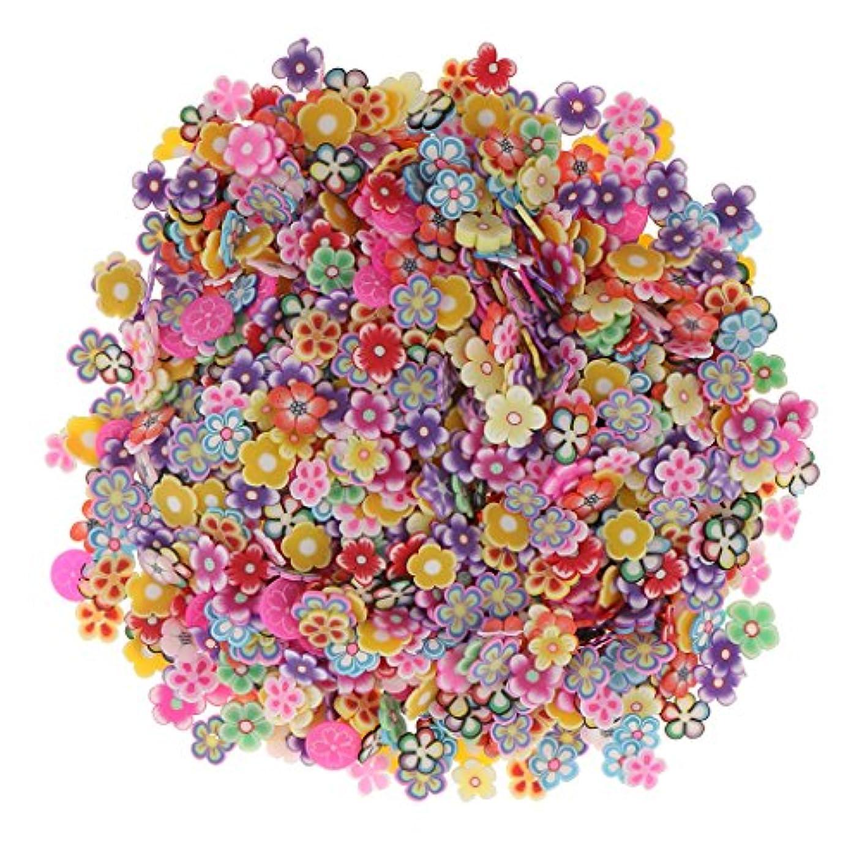 中央ゴネリル順番Sharplace 約1000個入り ネイルアート 3D花 フラワー DIY 手作り デコレーション