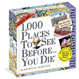 1000 Places to See Before You Die 2020 Calendar