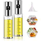 Oil Sprayer for Cooking, Olive Oil Sprayer Mister, Olive Oil Spray Bottle, Olive Oil Spray for Salad, BBQ, Kitchen Baking, Ro