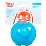 West Paw Zogoflex Jive Ball Dog Chew Toy – Bouncing Toys for Dogs, Fetch, Catch, Chewing, Play – Floatable, Recyclable Balls