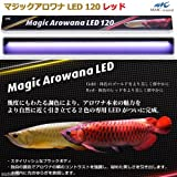 マジックアロワナ LED 120 レッド 水槽用照明 ライト 熱帯魚 水草