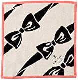 [ランバンオンブルー] レディース ハンカチーフ レディース ハンカチーフ 17408018C 黒 日本 28cm×28cm (FREE サイズ)