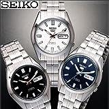 SEIKO セイコー5 日本生産モデル 自動巻き・中三針・日付・曜日・防水の5機能 (ホワイト)
