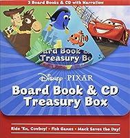 Disney*Pixar Board Book & CD Treasury Box