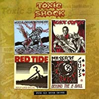 "Four Old Toxic Shock 7""S"