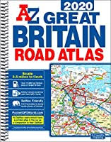 Great Britain Road Atlas 2020 (A4 Spiral)