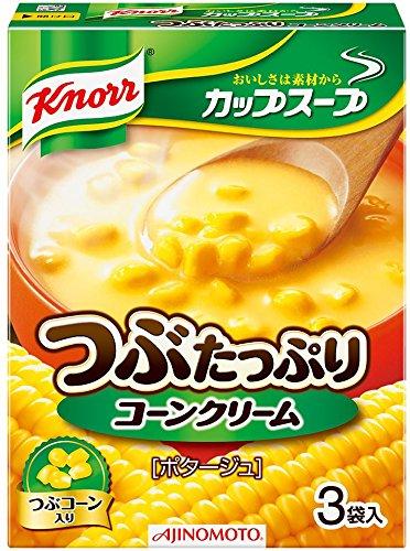 味の素『クノール カップスープ コーンクリーム』