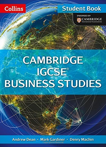 Cambridge IGCSE Business Studies Student Book (Collins Cambridge IGCSE)