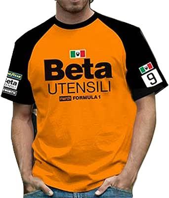 RETRO GP マーチ・ベータ メンズTシャツ02 MARCH BETA Mens T-shirt