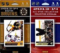 NHL Boston Bruinsライセンス2013–14スコアチームセットおよびすべてのスターカードセット