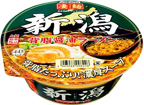ニュータッチ 凄麺 新潟背脂醤油ラーメン 122g×12個