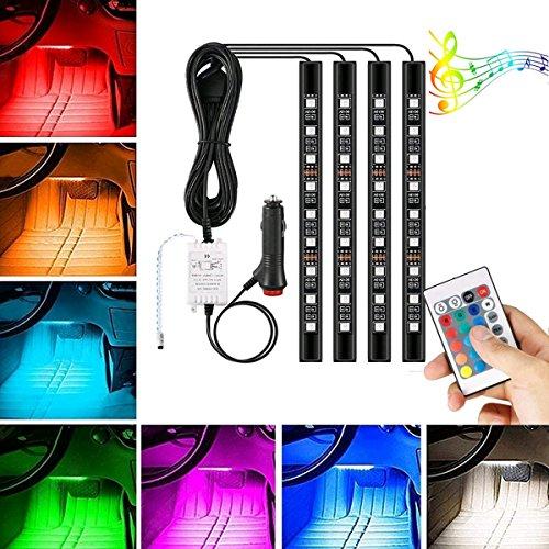 AMBOTHER LEDテープライト RGB車内照明 505...