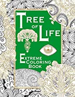 Tree of Life Adult Coloring Book (Extreme Coloring Book)