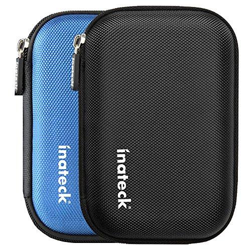 Inateck 2.5インチ ポータブルハードディスクケース 2.5型HDD保護収納ケース 本体/ケ...