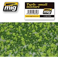 AmmoのMig Jimenez Turfs – Small MixtureリアルなGround with vegetation # 8356