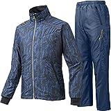 MIZUNO PRO ミズノプロ ブレスウインドブレーカーシャツ&ウインドブレーカーパンツ 12JE5W9014-12JF5W9014 /上下 Lサイズ ディープネイビ×ブラック