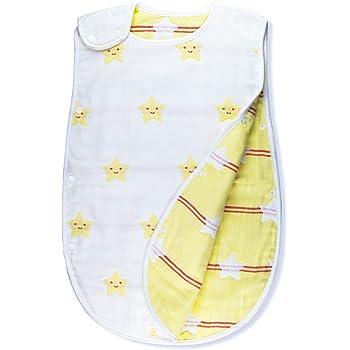 bef150fef61fb スリーパー 赤ちゃん 6重ガーゼ 寝袋 冬 キッズ ベビースリーパー パジャマ ベビー用 寝冷え 出産祝い