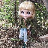 (ドーリア)Dollia ブライス 1/6ドール用 アウトフィット ライトブルー ダメージジーンズ デニム 服 ネオブライス ドール 人形