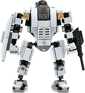 マイビルド (MyBuild) ブロックメカフレームシリーズ 可動フィギュア- 基地防衛官