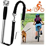 Videosystem Dog Hands Free Leashes,Dog Bike Leash,Dog Bicycle Exerciser Leash for Exercising Training Jogging Cycling,Easy In