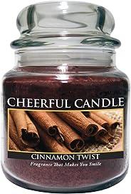 A Cheerful Giver Cinnamon Twist 16 oz. Jar Candle