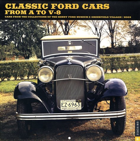 Classic Ford Cars Wall Calendar 2003の詳細を見る