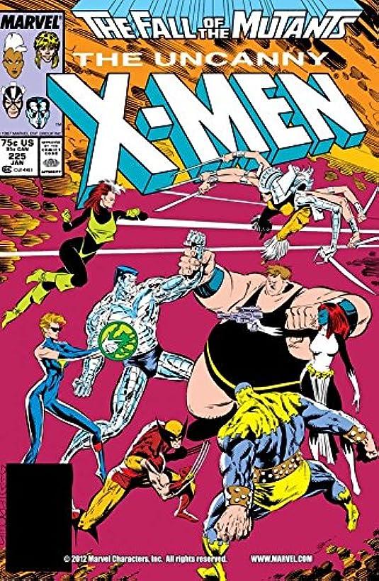 ガラガラ蒸気安定Uncanny X-Men (1963-2011) #225 (English Edition)