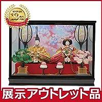 雛人形 コンパクト ケース飾り 【アウトレット特価】2019out-hina4