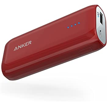 Anker Astro E1 6700mAh コンパクトモバイルバッテリー 急速充電可 iPhone&Android対応 ポーチ付 A1211095