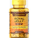 Puritan's Pride Royal Jelly 500 mg-120 Softgels