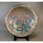 有田焼・伊万里焼|陶器飾り皿・飾皿・大皿|贈答品|ギフト|記念品|贈り物|プラチナ・藤井錦彩