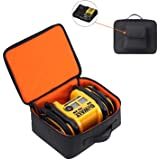 Carrying Case Compatible for DEWALT DCC020IB 20V Max Inflator with Battery and Charger(Black)
