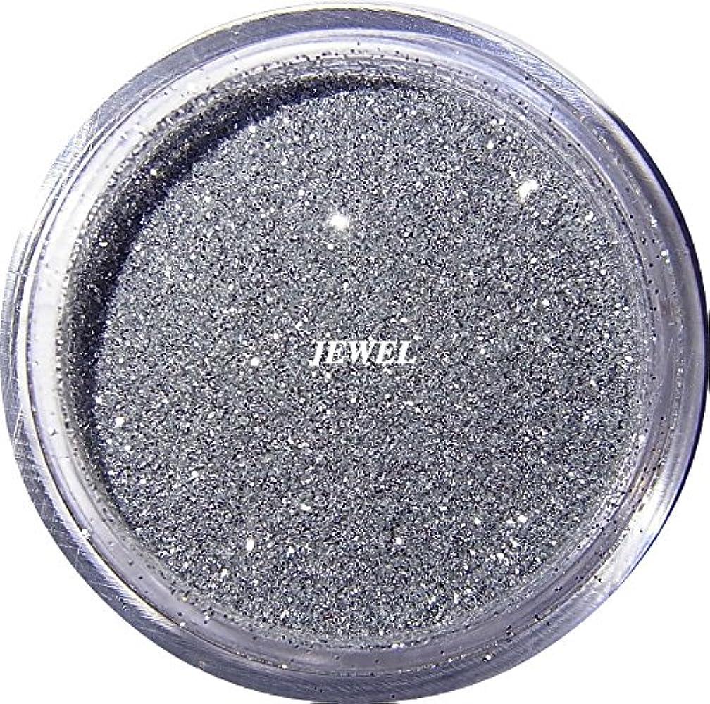 ソビエト嫌悪比類なき【jewel】 超微粒子ラメパウダー(銀/シルバー) 256/1サイズ 2g入り レジン&ネイル用 グリッター