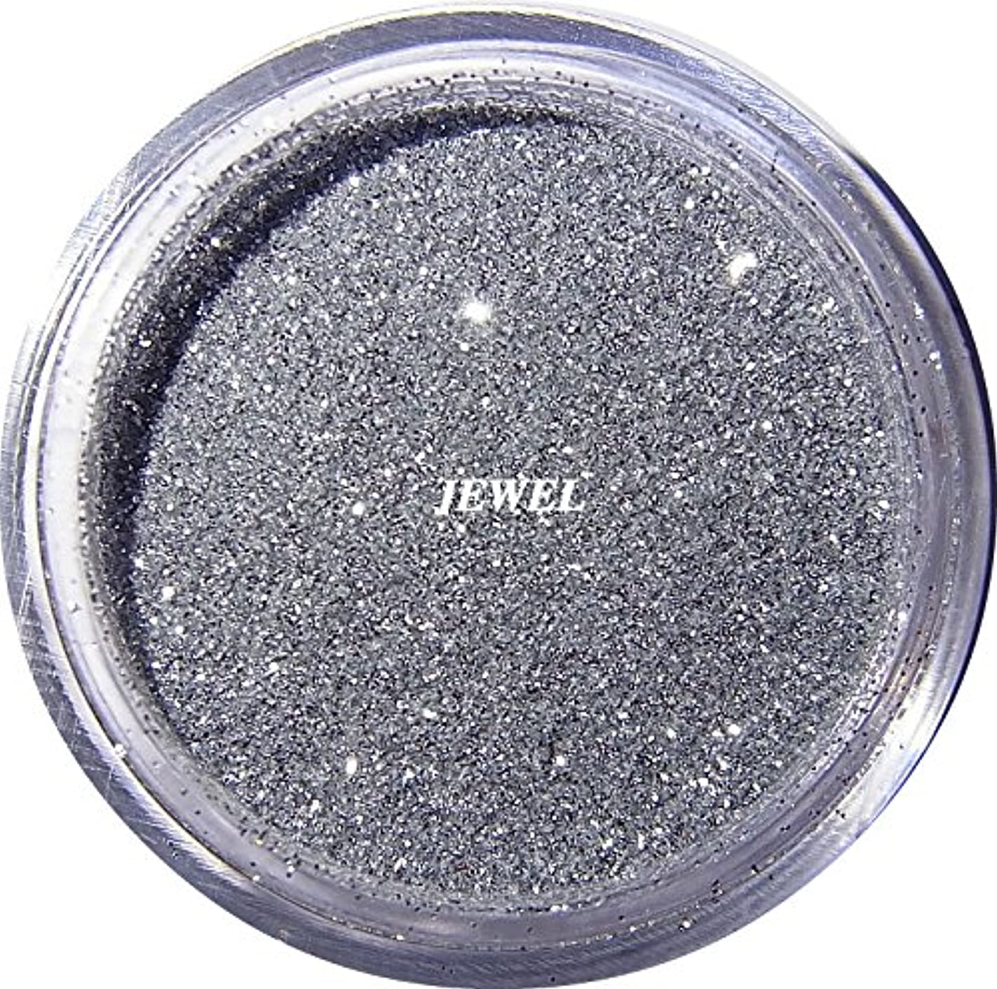 合併症膨張するお【jewel】 超微粒子ラメパウダー(銀/シルバー) 256/1サイズ 2g入り レジン&ネイル用 グリッター