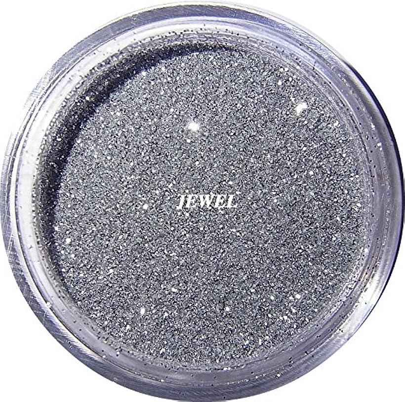 【jewel】 超微粒子ラメパウダー(銀/シルバー) 256/1サイズ 2g入り レジン&ネイル用 グリッター
