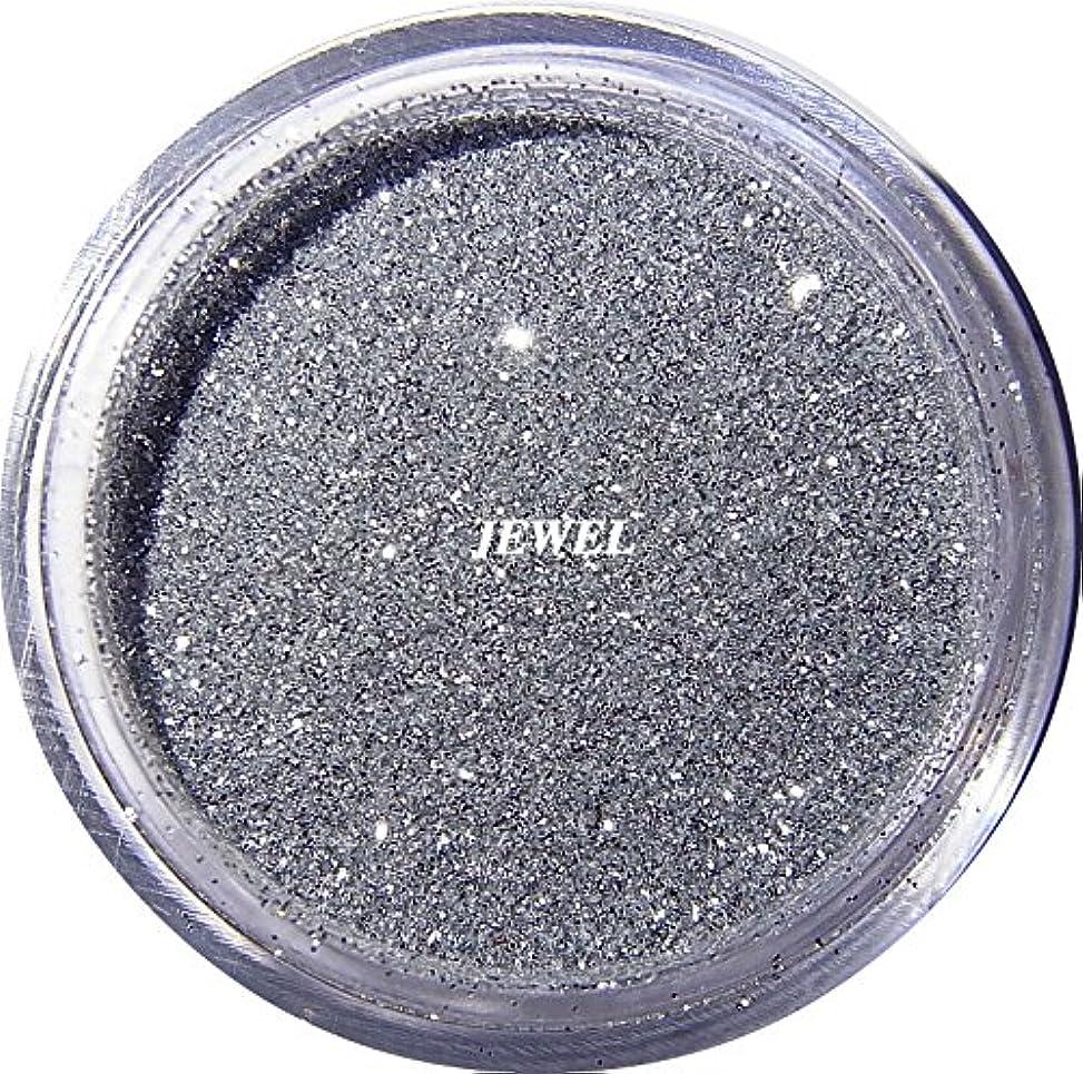 突っ込む勝者臭い【jewel】 超微粒子ラメパウダー(銀/シルバー) 256/1サイズ 2g入り レジン&ネイル用 グリッター