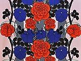 約70×50cm マリメッコ 生地 marimekko UNELMA ウネルマ グレー ハーフカット はぎれ カットクロス (ピンク)