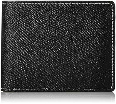 [マッキントッシュフィロソフィー] 710015 二つ折り財布 ロイアルブラックラ シリーズ ブラック