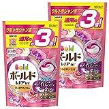 ボールド 洗濯洗剤 ジェルボール3D 癒しのプレミアムブロッサムの香り 詰め替え ウルトラジャンボサイズ 52個入×2個 P&G