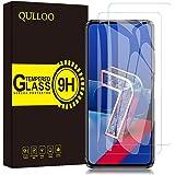 QULLOO 【2枚】ASUS ZenFone 7 (ZS670KS) / ZenFone 7 Pro (ZS671KS) 5G フィルム 強化ガラス 日本製素材旭硝子製 全面保護 硬度9H 飛散防止 指紋防止 自動吸着 気泡防止 ZenFone 7