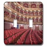 3dローズLSP _ 228016_ 2クロアチア、ザグレブ、クロアチアNational Theaterダブル切り替えスイッチ