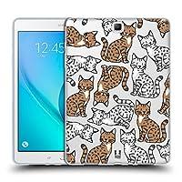 Head Case Designs エジプシャンマウ キャットブリード・パターンズ 2 Samsung Galaxy Tab A 9.7 専用ソフトジェルケース