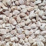 天然石 玉石砂利 1-2cm 140kg パウダーピンク (ガーデニングに最適 ピンク砂利)