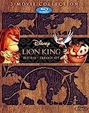 ライオン・キング ブルーレイ・トリロジーセット (期間限定) [Blu-ray] / ディズニー (出演)