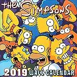 シンプソンズ 2019年 カレンダー LPサイズ 壁掛け The SIMPSONS バート ホーマー グッズ 可愛い 子供部屋 キャラクター インテリア ポスター