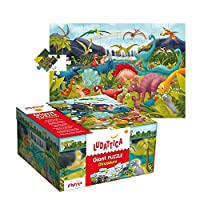 Giant Puzzle Dinosaurs