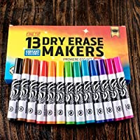 monaggio Dry Eraseマーカー – 13色 Dry Erase Markers (13 Colors Set)