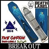 DEATH LABEL 15-16 THE COFFIN horizon パウダー メンズ レディース スノーボード 板 2016 146