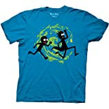 Ripple Junction Rick and Morty Forever Silhouettes Adult T-Shirt